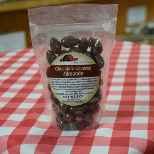 Chocolate Covered Almonds 8 oz
