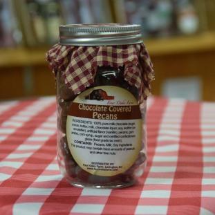 Chocolate Pecans pint jar