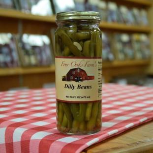 Dilled Green Beans 16 oz