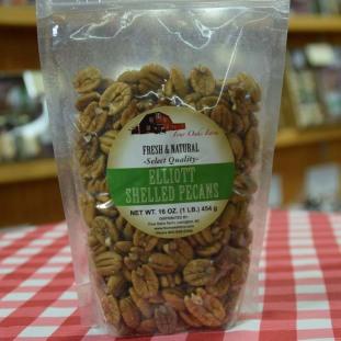 Natural Pecan HALVES 16 oz