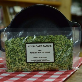 Dry Green Split Peas 16 oz bag