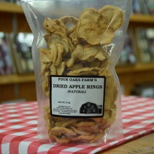 Dried Apple Rings 8 oz