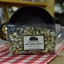 Dry Mixed Beans 16 oz bag
