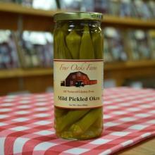 Mild Pickled Okra 16 oz