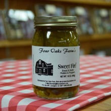 Sweet Fire Pickles 16 oz