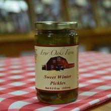 Sweet Winter Pickles 16 oz