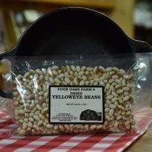 Dry Yellow Eye Beans 16 oz bag