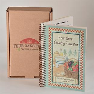 Four Oaks' Cookbook Gift Box