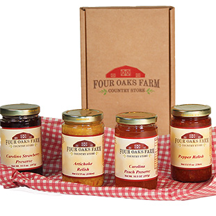Country Preserves & Relishes Gift Box