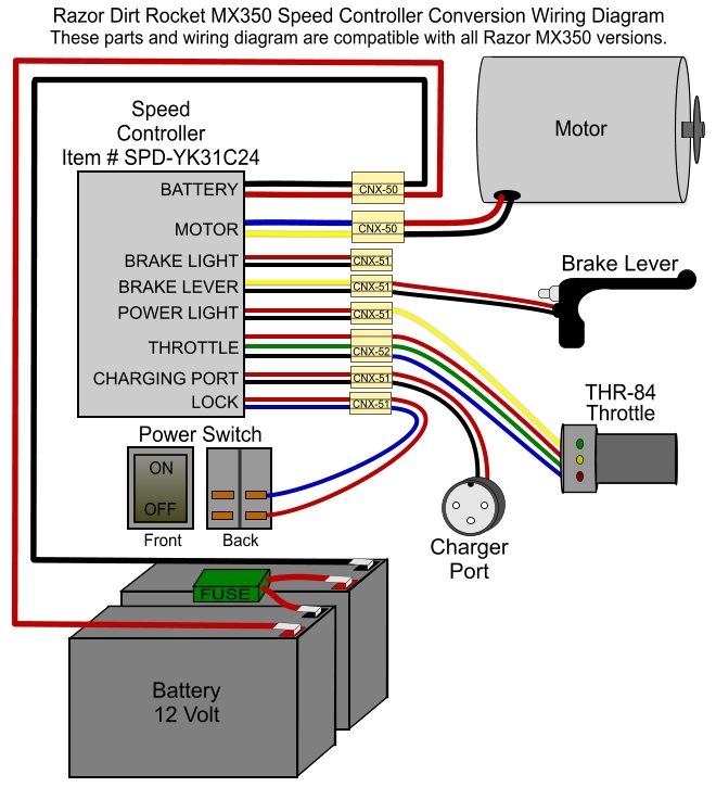 36 volt electric scooter controller wiring diagram electric scooter throttle wiring diagram