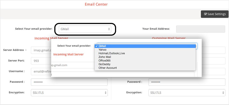 Email Setup : REfindly Help Desk