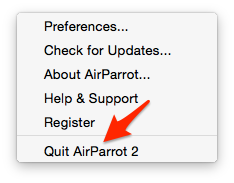 How do I collect logs for AirParrot 2 for Mac? : Squirrels