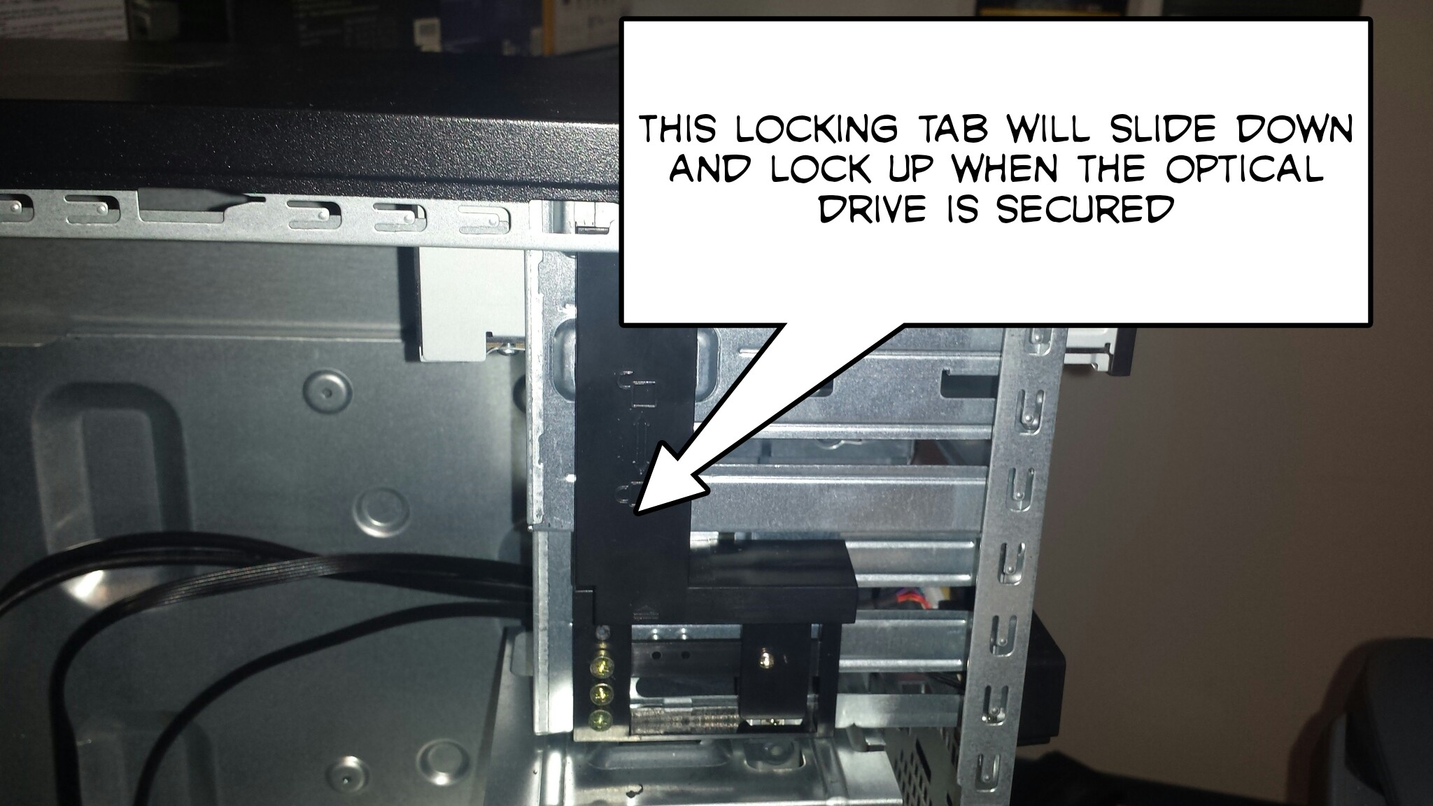 How To Install A 5 25 Quot Optical Drive On The Antec Nsk3180