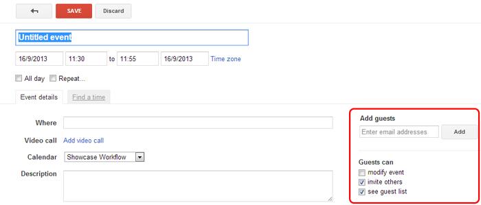 adding user to google calendar event
