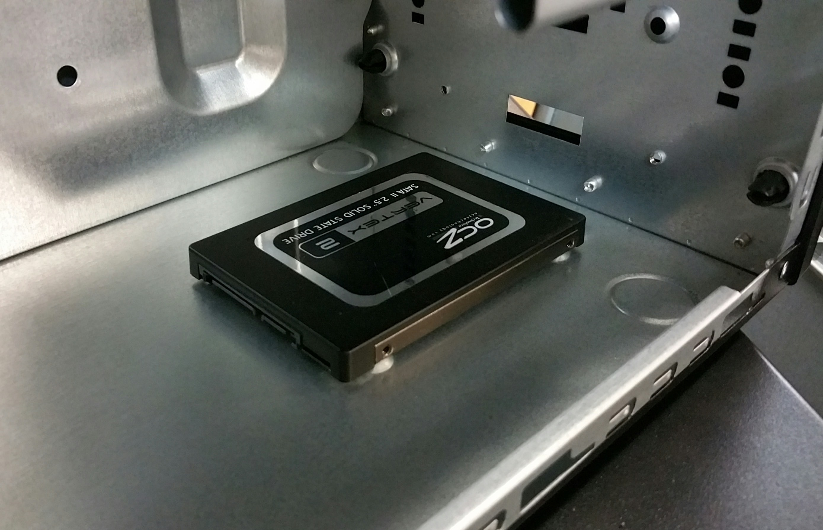 How To Install An 2 5 Quot Ssd On The Antec Nsk3100 Nsk3180