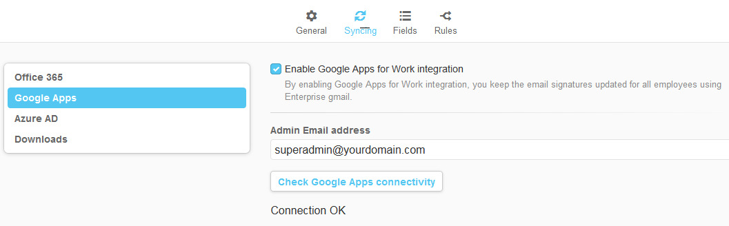 google mail how to create super admin