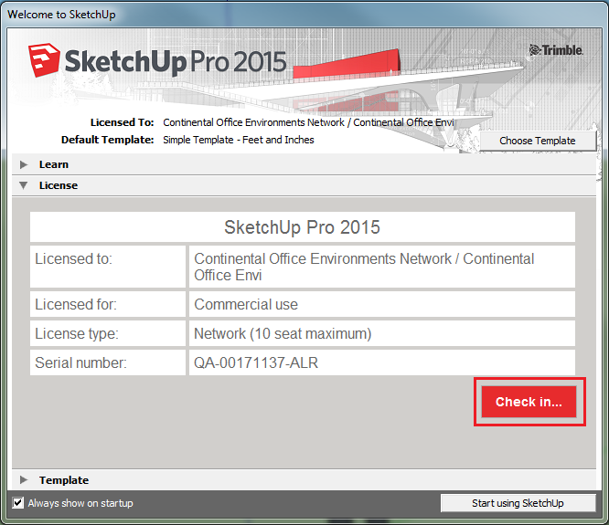 sketchup make 2015 pro license key