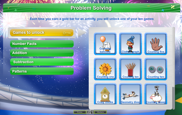 Solving problems games