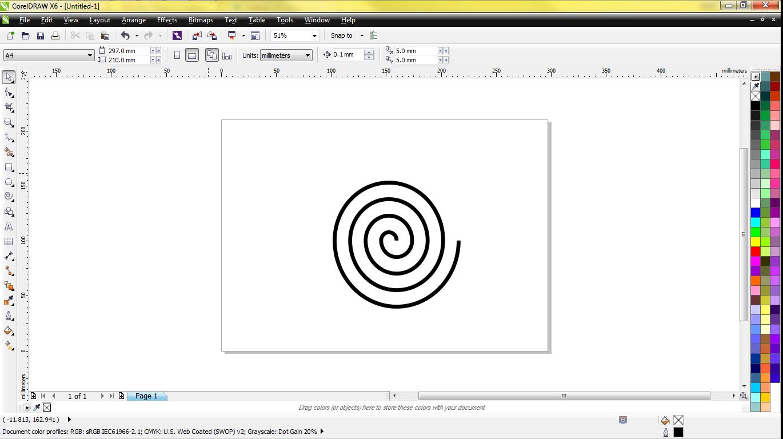 Creating SVG using Corel draw : VideoScribe