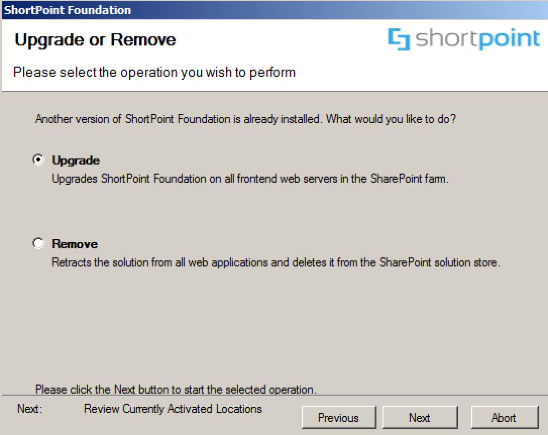 Upgrade ShortPoint for SharePoint Server