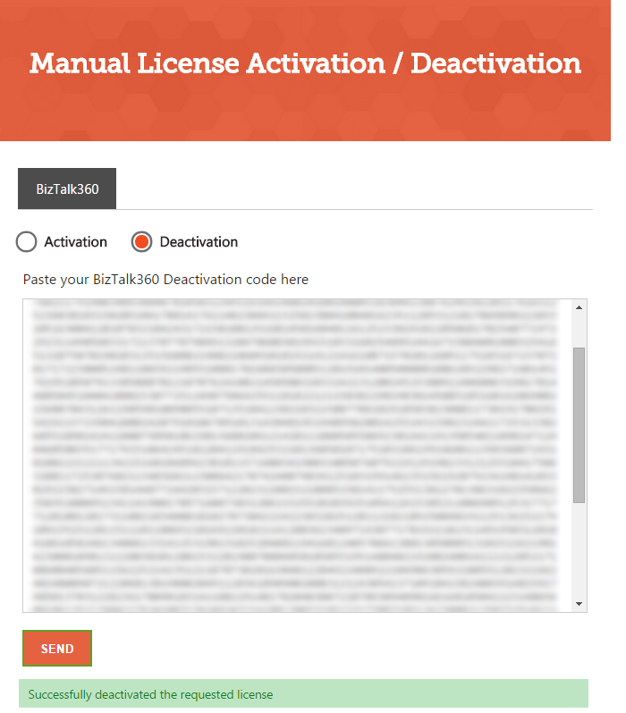 Biztalk360 License Manual Deactivation Biztalk360 Support