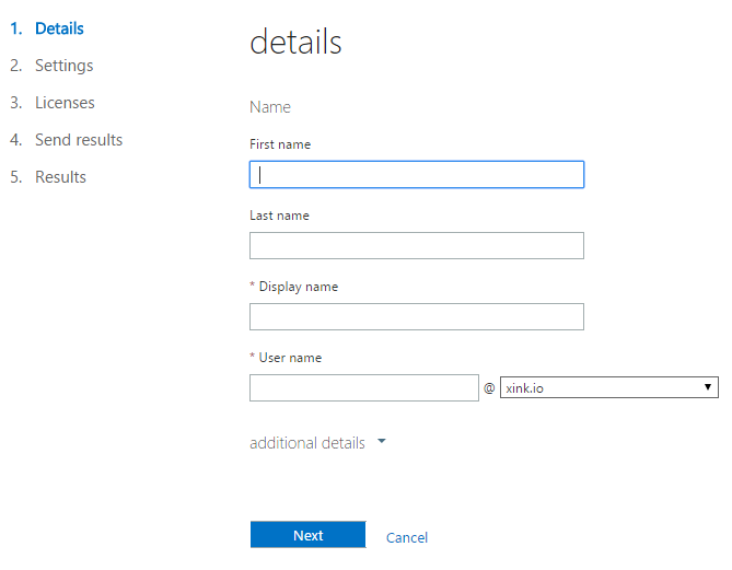 Setup Office 365 permissions in Office 365 admin center