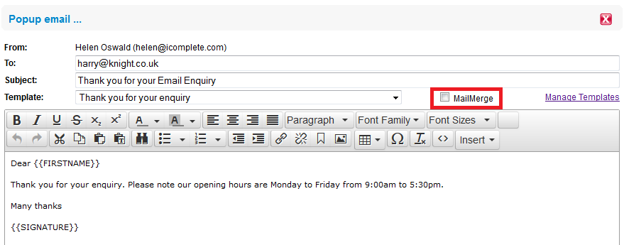 I Made Edits To My Email Template But They Have Not Saved Why - Save email as template