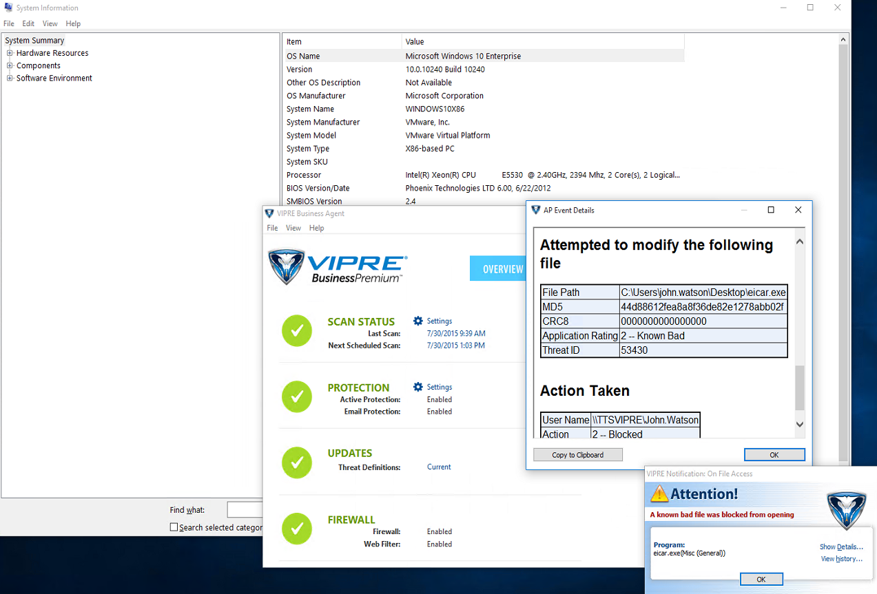 Official VIPRE Business/VIPRE Business Premium 7 5 Beta 2