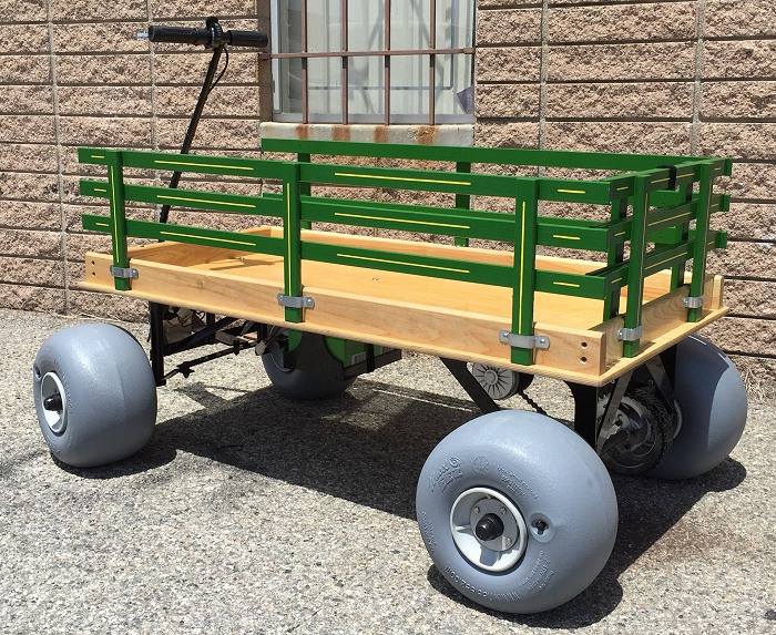 Building An Electric Powered Beach Wagon
