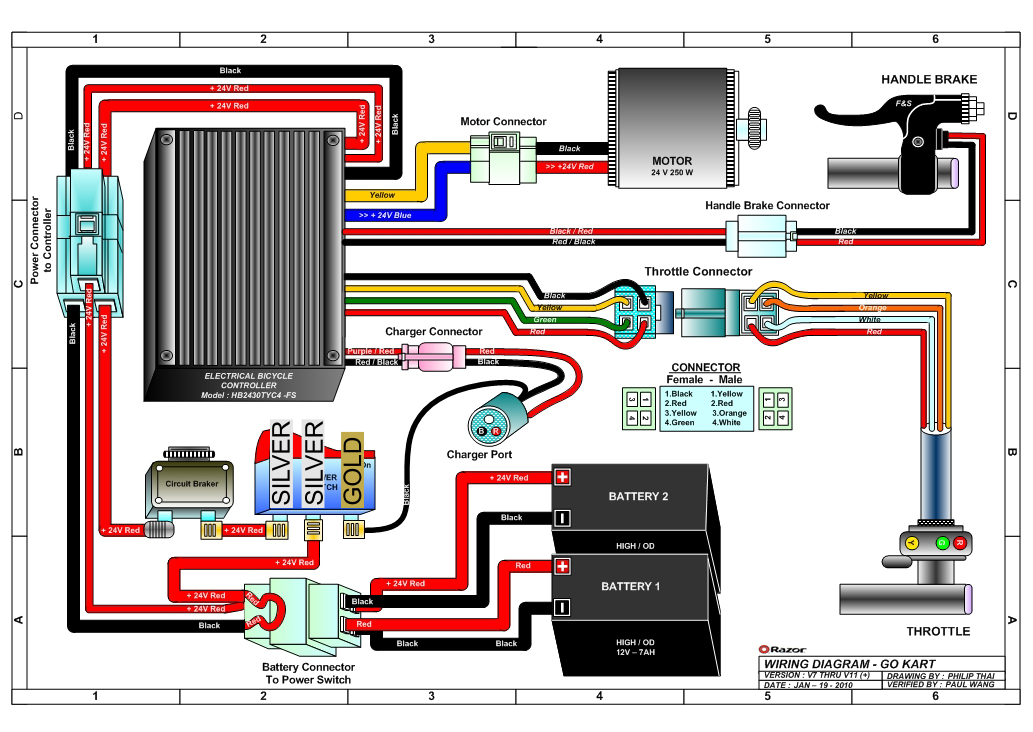 Razor E200 Wiring Diagram 2004 Wiring Diagram For Light Switch