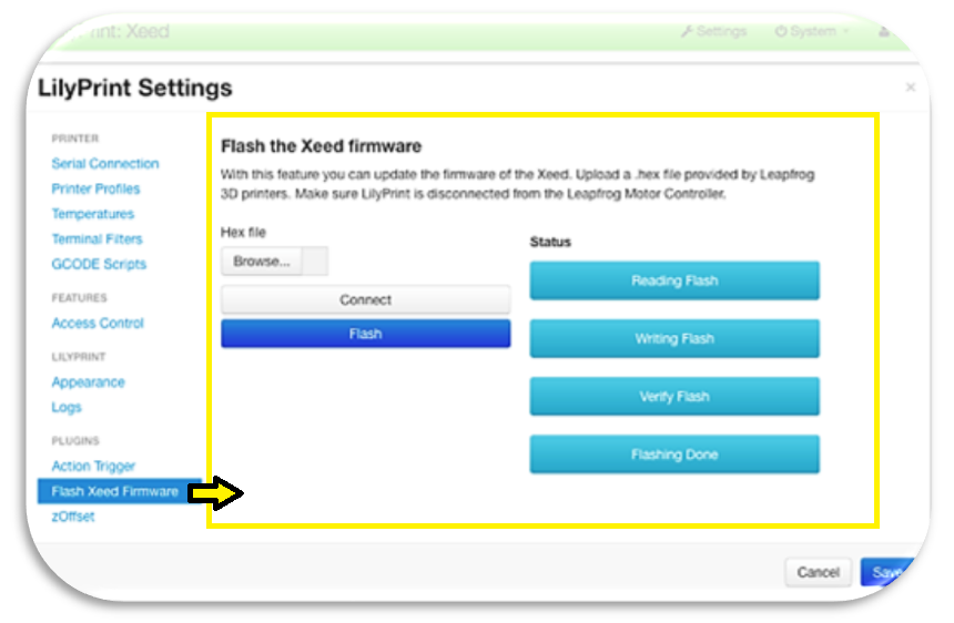How to Flash the Latest Firmware for Your Xeed 2015 3D