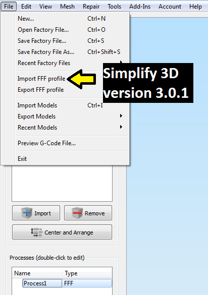 How to Import Downloaded Print Profiles into Simplify 3D
