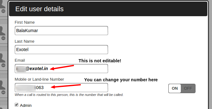 How do I set up my phone number? : Exotel Support Center