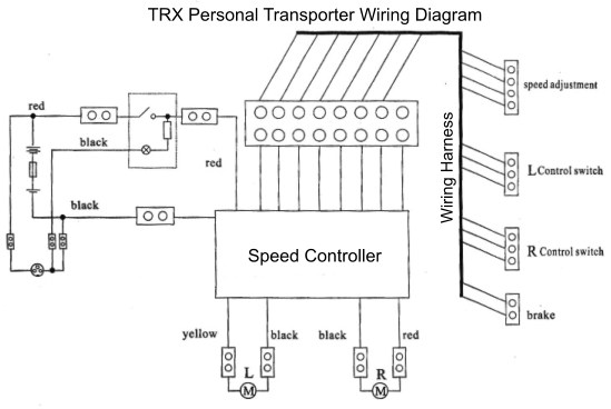Trx  Please Help With Wiring   Electricscooterparts Com