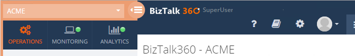 biztalk360 super user home screen