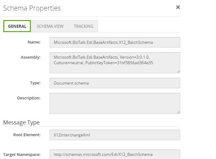 biztalk360 schema properties