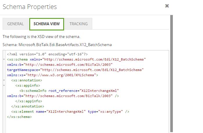 biztalk360 schema view