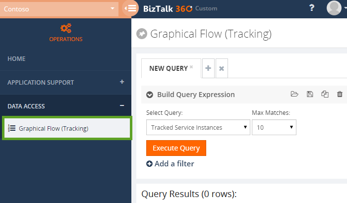 access permissions in biztalk360 for graphical flow tracking