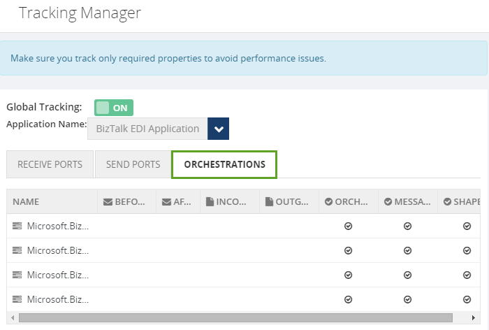 manage tracking in orchestrations using biztalk360