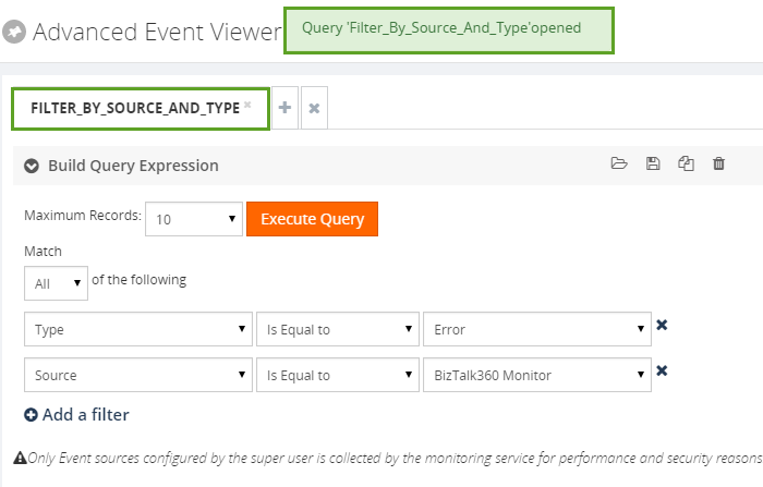 search event viewer query
