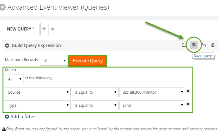 save advanced event viewer queries