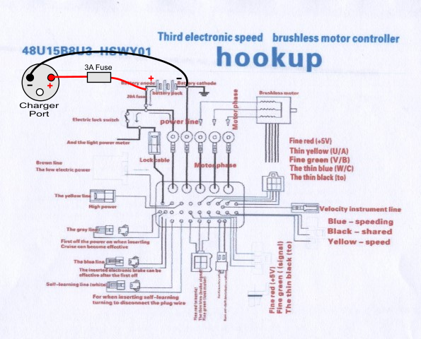 E Scooter Wiring Diagram 36v Example Electrical Wiring Diagram