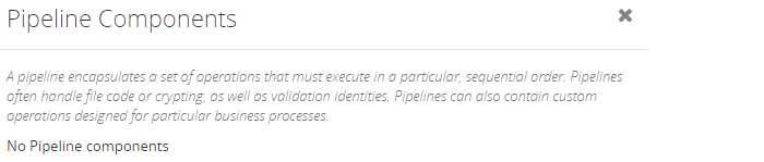 biztalk artifacts pipeline components