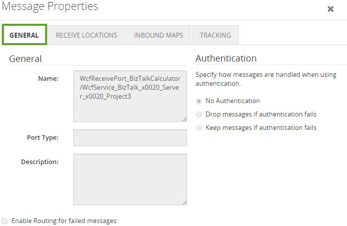 biztalk message properties details