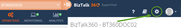 biztalk360 superuser window