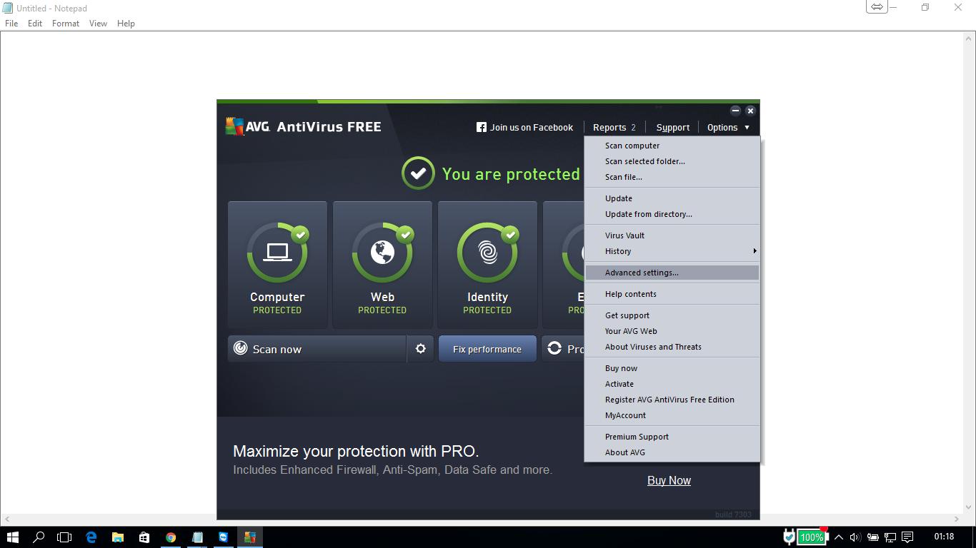 avg free fix performance