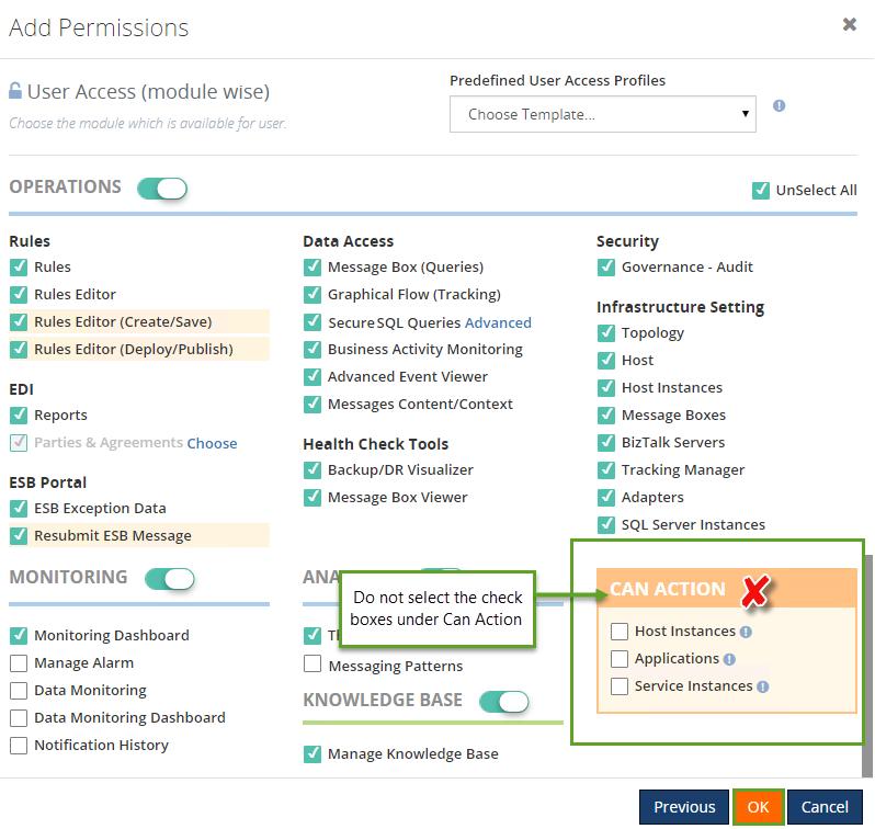add access permission to new user