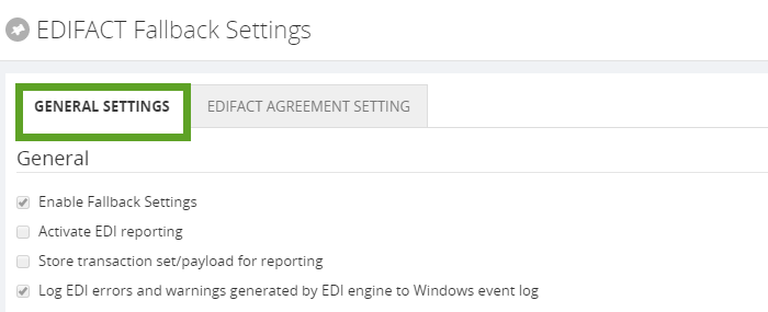 edifact fallback settings in biztalk360