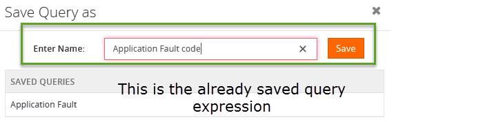 field validation error