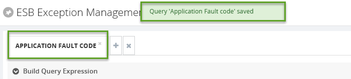 esb exception application fault code